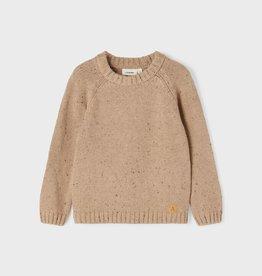 Lil Atelier Longsleeve Knit | Tobacco Brown
