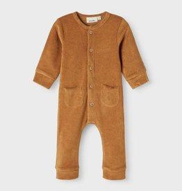 Lil Atelier Sweat Suit | Tobacco Brown