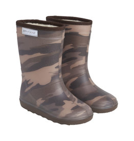 en'fant Thermo Boots Print | Dark Olive