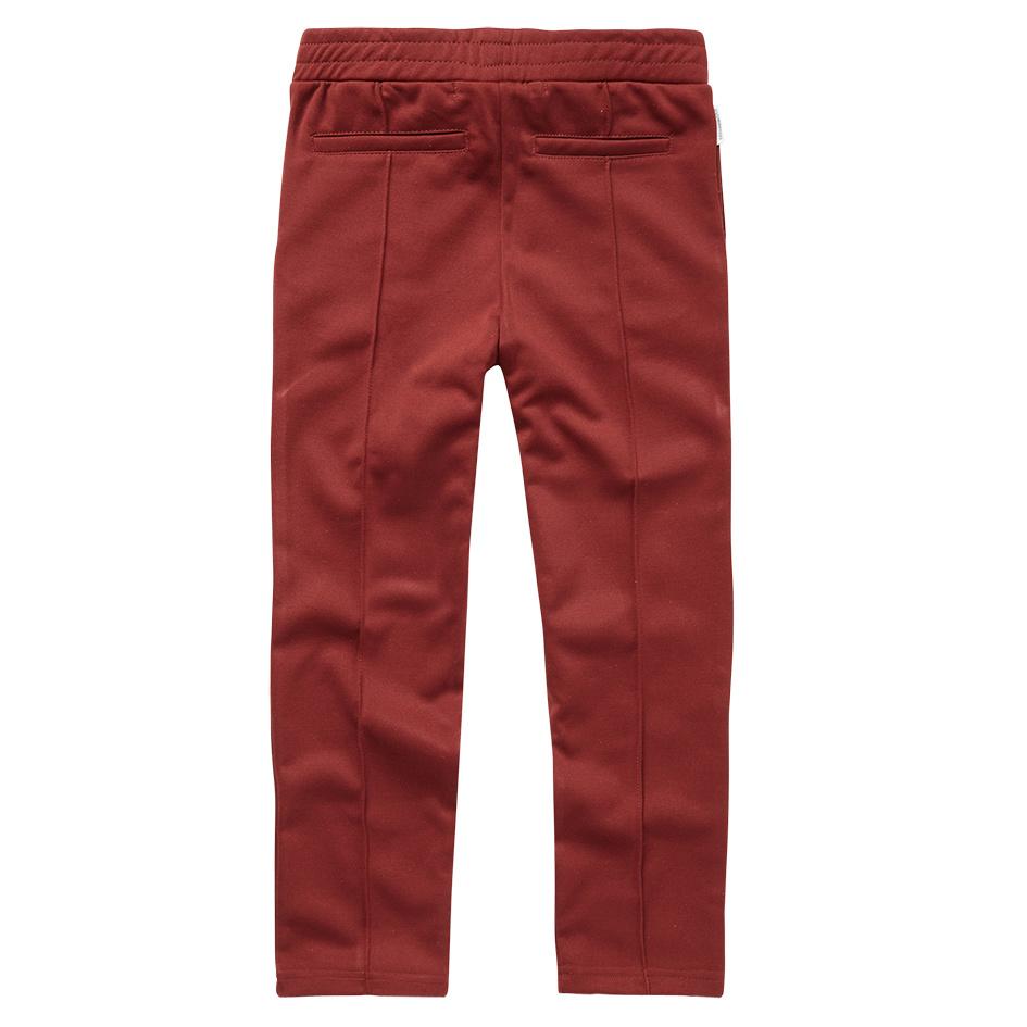 Mingo Tracking Pants   Brick Red