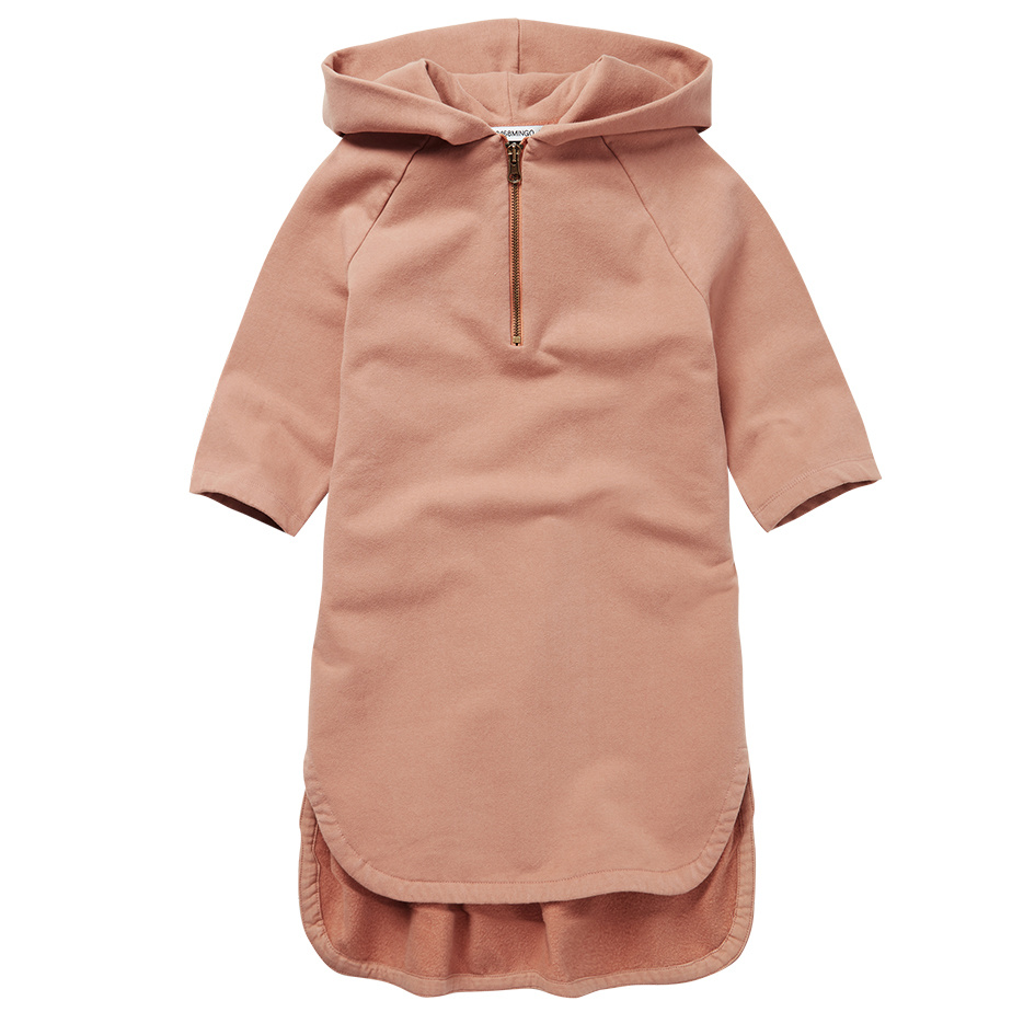 Mingo Sweat Dress   Chocolade Milk