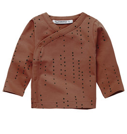 Mingo Wrap top | Dewdrops Burnished Leather