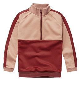 Mingo Tracking Sweater | Brick Red