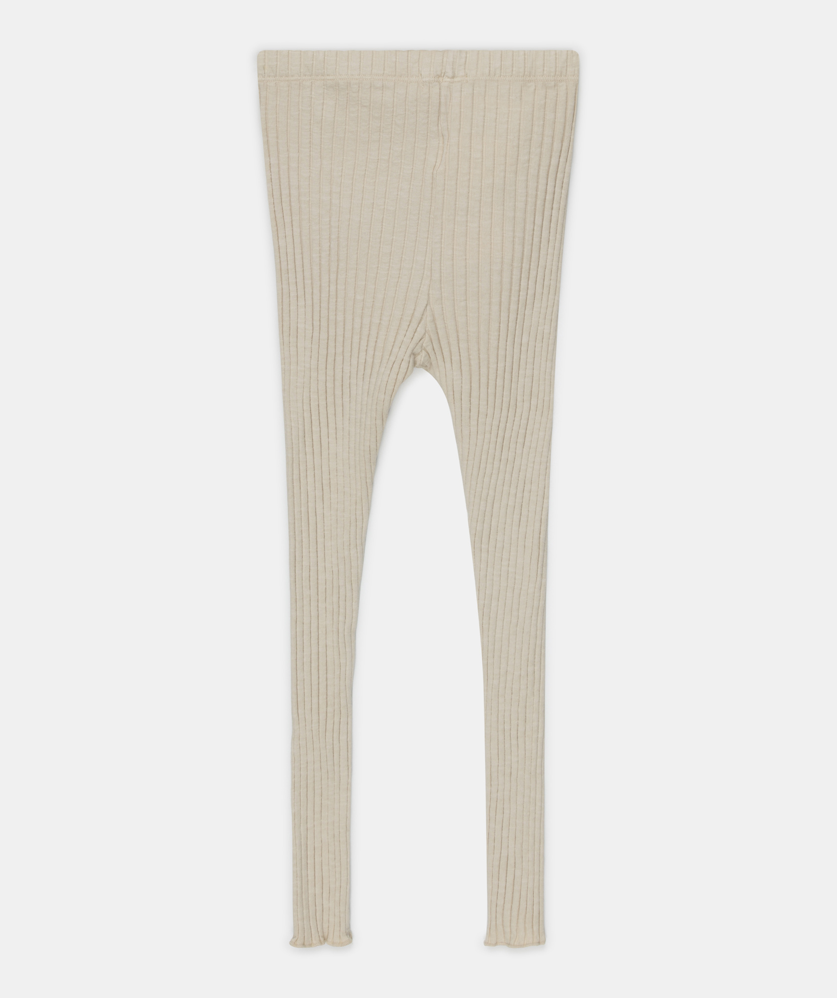 My Little Cozmo Jana Cotton Rib Knit | Stone