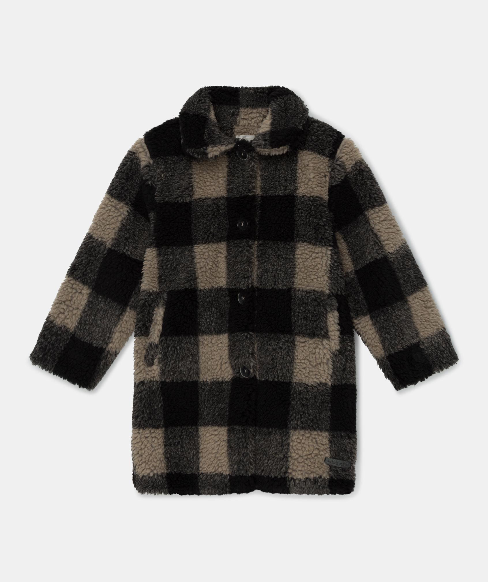 My Little Cozmo Maia Plaid wool-blend | Multi
