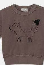 My Little Cozmo Sweatshirt Fox  Fleece - Taupe