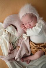 Mushie Lovely Blanket | Moon Pimrose