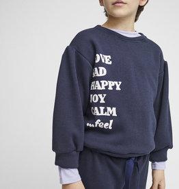 Pinata Pum Sweatershirt Aina Navy Happy Calm
