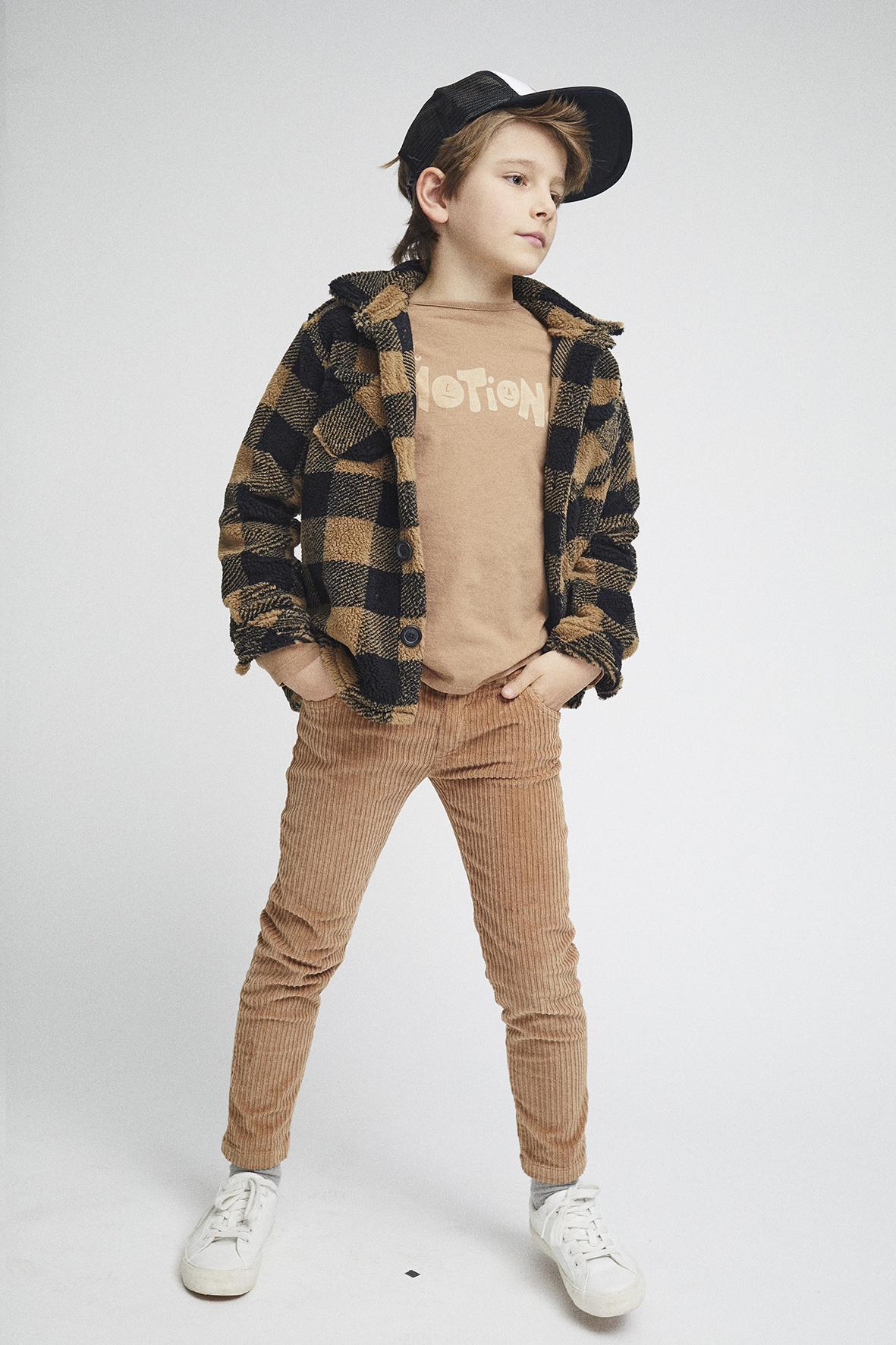 Pinata Pum Shirt Over Shirt Brown Square