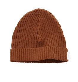 Mingo Knit Beanie | Burnished Leather