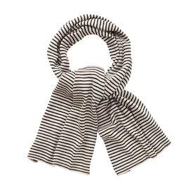 Mingo Knit Scarf | Monochrome Stripes