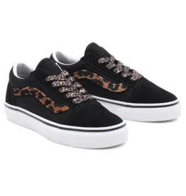 Vans Old Skool | Leopard Fur Black