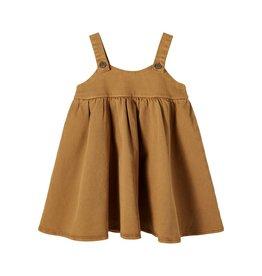 Lil Atelier Loose Spencer Dress | Golden Brown