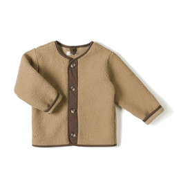 Nixnut Teddy vest Camel