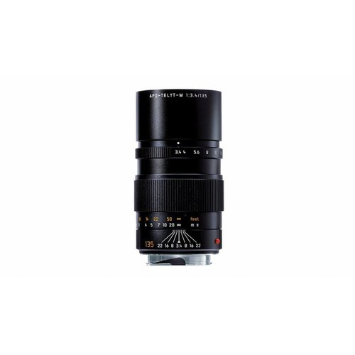 Leica APO-TELYT-M 135 mm f/3.4, black anodized finish