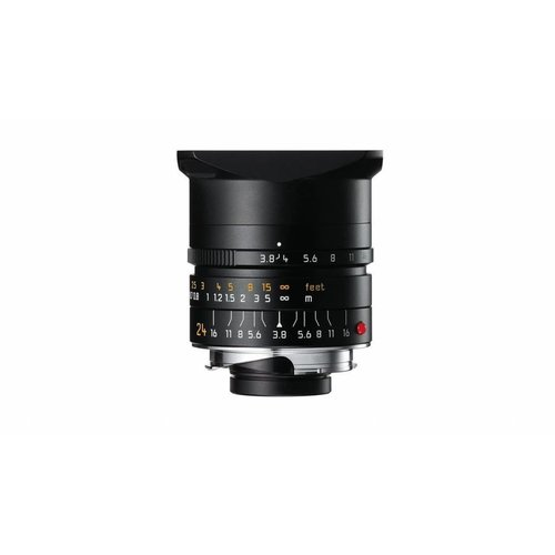 Leica ELMAR-M 24 mm f/3.8 ASPH., black anodized finish