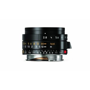Leica ELMARIT-M 28 mm f/2.8 ASPH., black anodized finish