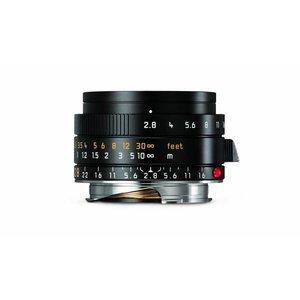 Leica ELMARIT-M 28 mm f/2.8 ASPH., black anodized finish