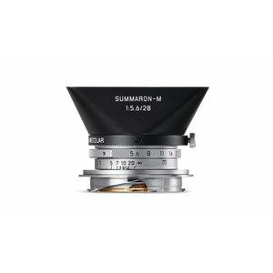 Leica Summaron-M 28mm f/5.6 ASPH, silver chrome finish lens