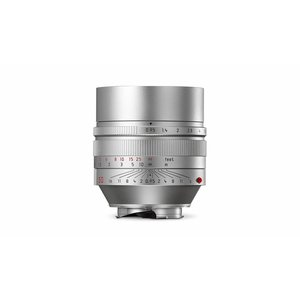 Leica NOCTILUX-M 50 mm f/0.95 ASPH., silver anodized finish