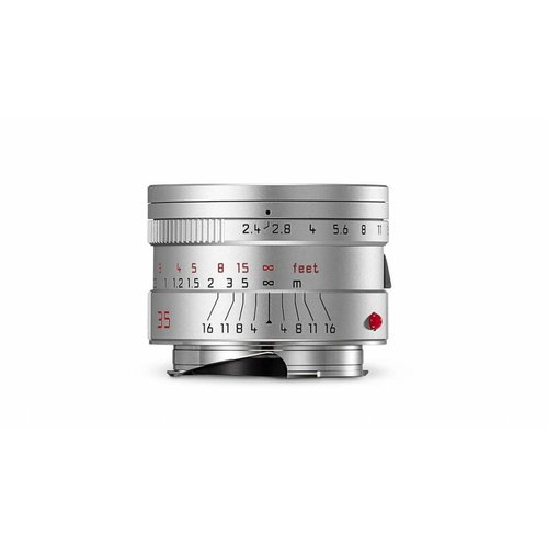 Leica SUMMARIT-M 35 mm f/2.4 ASPH., silver anodized finish