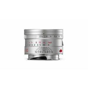 Leica SUMMARIT-M 50 mm f/2.4, silver anodized finish
