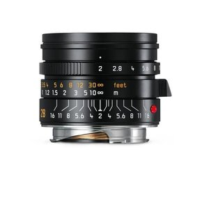 Leica SUMMICRON-M 28 mm f/2  ASPH., black anodized finish