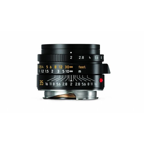 Leica SUMMICRON-M 35 mm f/2 ASPH., black anodized finish