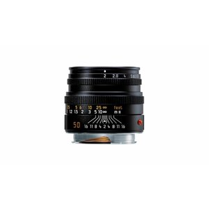 Leica SUMMICRON-M 50 mm f/2, black anodized finish