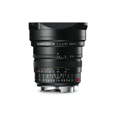 Leica SUMMILUX-M 21 mm f/1.4 ASPH. black anodized finish