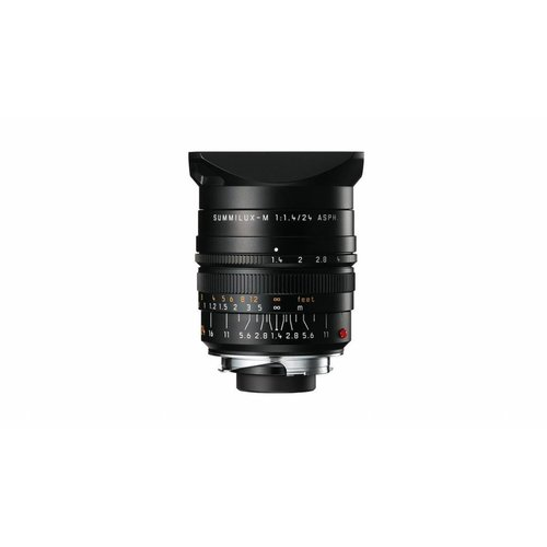 Leica SUMMILUX-M 24 mm f/1.4 ASPH., black anodized finish