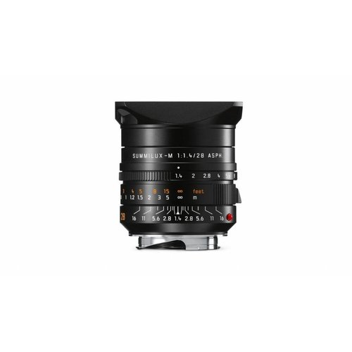 Leica SUMMILUX-M 28 mm f/1.4 ASPH. black anodized finish