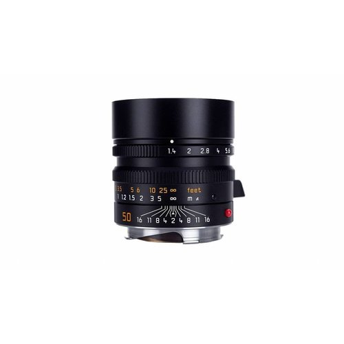 Leica SUMMILUX-M 50 mm f/1.4 ASPH. Black anodized finish