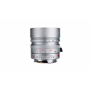 Leica SUMMILUX-M 50 mm f/1.4 ASPH. silver chrome finish