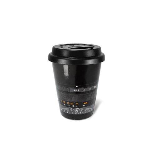 "Leica Coffee Mug ""Noctilux-M 50"", black"
