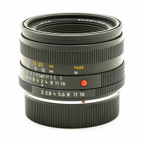Leica 50mm Summicron - R f/2.0 (ROM)