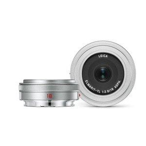 Leica Elmarit-TL 18mm f/2.8 ASPH, silver