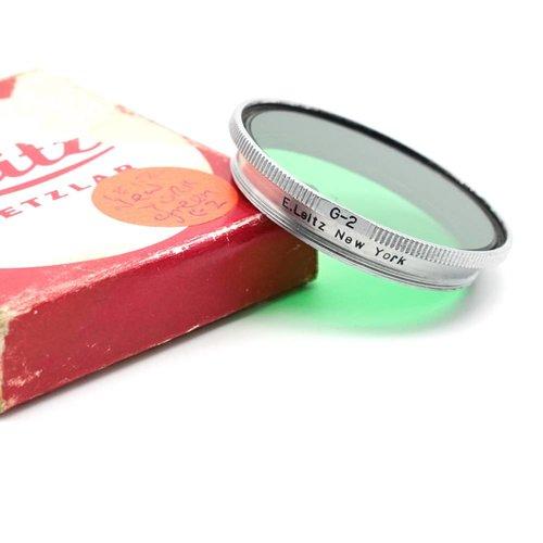 Leica G 2 Green Summitar Filter