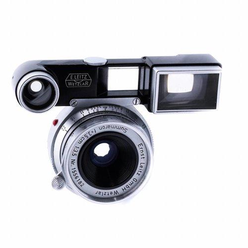 Leica 35mm f/3.5 Summaron + M3Viewfinder Attachment
