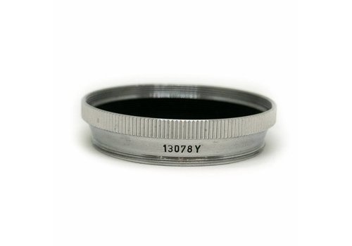 Leica 13078Y SNHOO Filter Adapter for E39 Filters on Summitar Lens
