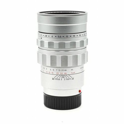 Leica 90mm f/2.0 Summicron Silver Chrome