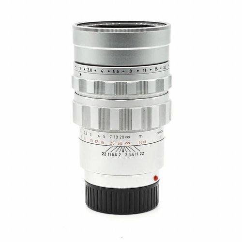 Leica 90mm f/2.0 Summicron Silver Chrome