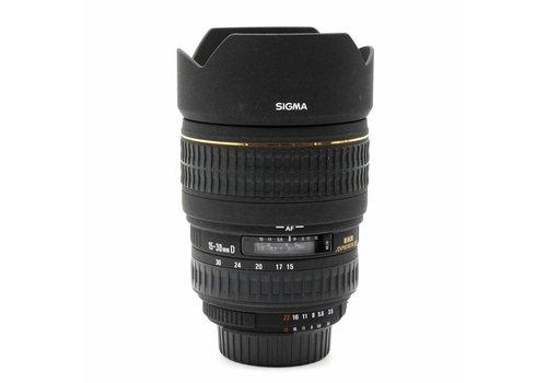 Sigma 15-30mm f/3.5-4.5 EX DG