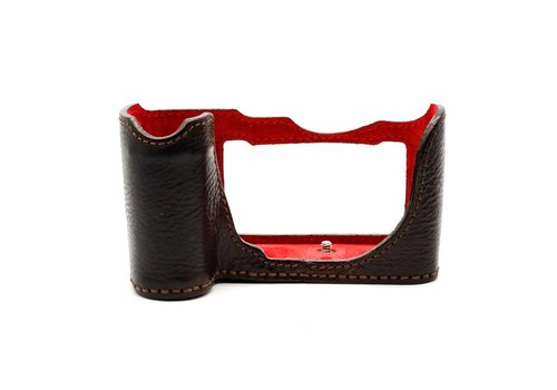 Angello Pelle Leather Case, Dark Brown for SL