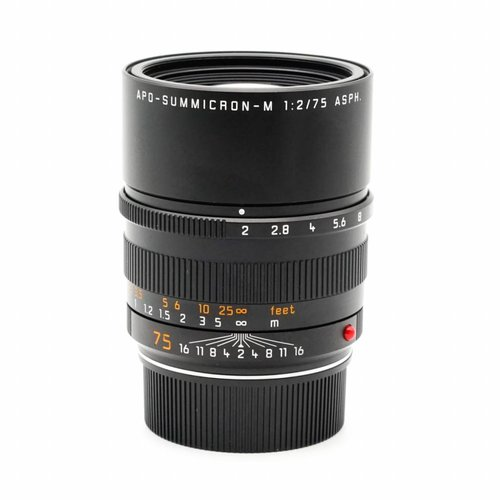 Leica 75mm f/2 APO Summicron 6BIT