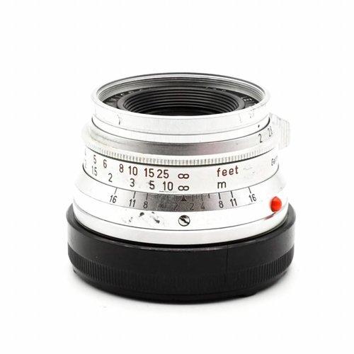 Leica 35mm f/2 Summicron (8 Elements)