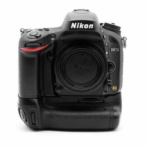 Nikon D610 + MB D 14