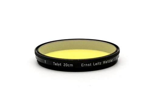 Leica Dark Yellow Filter For 20cm Telyt