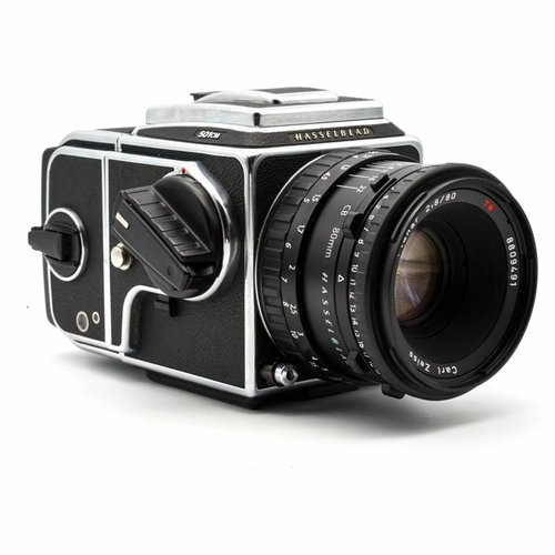 Hasselblad 501CM Outfit (80mmCB, 501CM, A12Back)