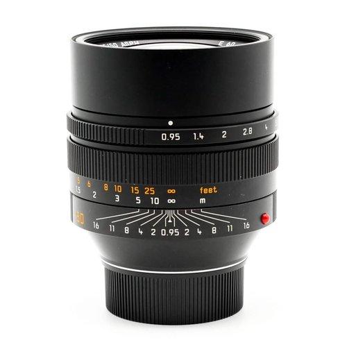 Leica 50mm f/0.95 Noctilux ASPH Black 6-BIT
